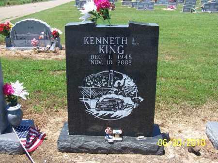 KING, KENNETH E - Jackson County, Arkansas | KENNETH E KING - Arkansas Gravestone Photos
