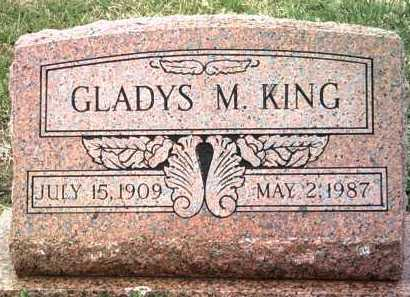 KING, GLADYS M - Jackson County, Arkansas | GLADYS M KING - Arkansas Gravestone Photos