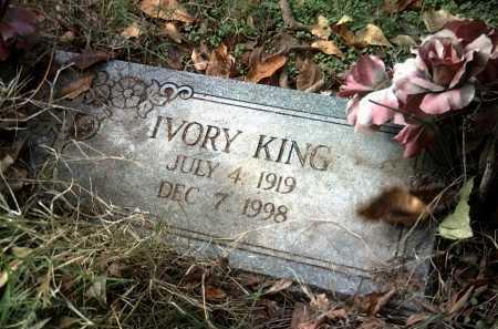 KING, IVORY - Jackson County, Arkansas | IVORY KING - Arkansas Gravestone Photos