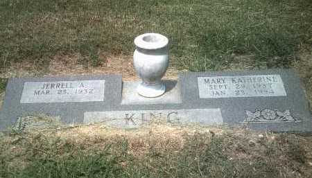 KING, JERRELL ANDREW - Jackson County, Arkansas | JERRELL ANDREW KING - Arkansas Gravestone Photos