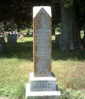 KING, LAURA - Jackson County, Arkansas | LAURA KING - Arkansas Gravestone Photos