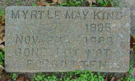 KING, MYRTLE MAY - Jackson County, Arkansas | MYRTLE MAY KING - Arkansas Gravestone Photos