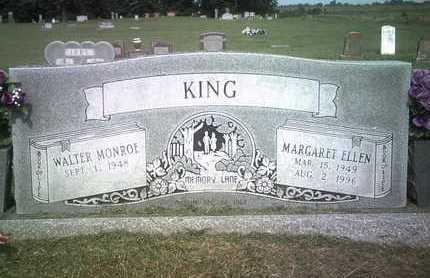 KING, MARGARET ELLEN - Jackson County, Arkansas   MARGARET ELLEN KING - Arkansas Gravestone Photos