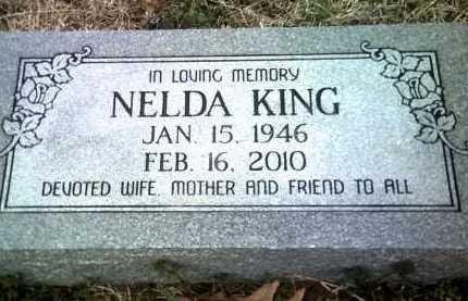KING, NELDA - Jackson County, Arkansas   NELDA KING - Arkansas Gravestone Photos