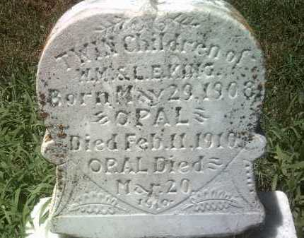 KING, ORAL - Jackson County, Arkansas | ORAL KING - Arkansas Gravestone Photos