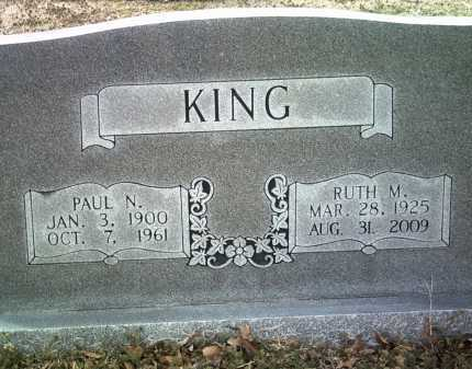 KING, PAUL N - Jackson County, Arkansas | PAUL N KING - Arkansas Gravestone Photos