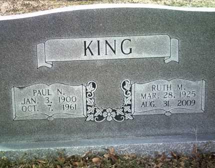 KING, RUTH M - Jackson County, Arkansas | RUTH M KING - Arkansas Gravestone Photos