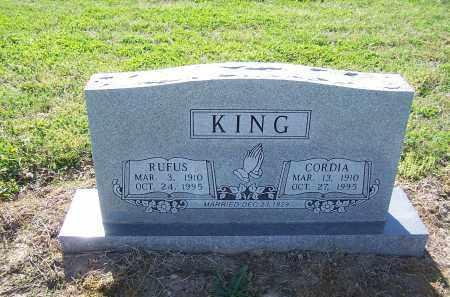 KING, CORDIA - Jackson County, Arkansas | CORDIA KING - Arkansas Gravestone Photos