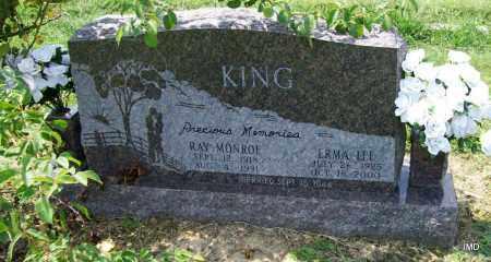 KING, RAY MONROE - Jackson County, Arkansas | RAY MONROE KING - Arkansas Gravestone Photos