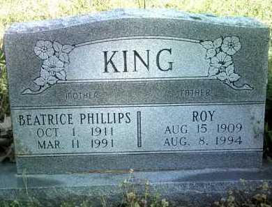 KING, BEATRICE - Jackson County, Arkansas | BEATRICE KING - Arkansas Gravestone Photos