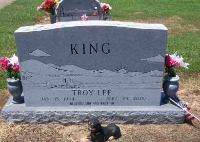 KING, TROY LEE - Jackson County, Arkansas | TROY LEE KING - Arkansas Gravestone Photos