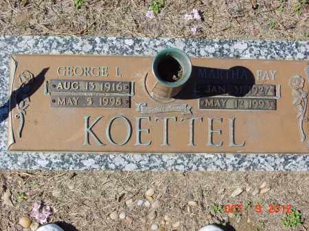 KOETTEL, MARTHA FAY - Jackson County, Arkansas | MARTHA FAY KOETTEL - Arkansas Gravestone Photos