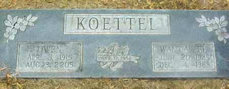 KOETTEL, WANDA LEE - Jackson County, Arkansas | WANDA LEE KOETTEL - Arkansas Gravestone Photos