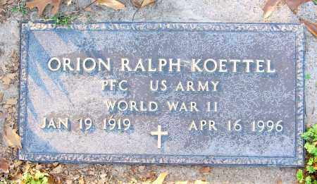 KOETTEL (VETERAN WWII), ORION RALPH - Jackson County, Arkansas | ORION RALPH KOETTEL (VETERAN WWII) - Arkansas Gravestone Photos