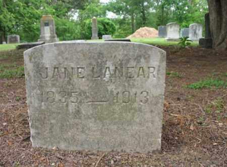 LANEAR, JANE - Jackson County, Arkansas | JANE LANEAR - Arkansas Gravestone Photos