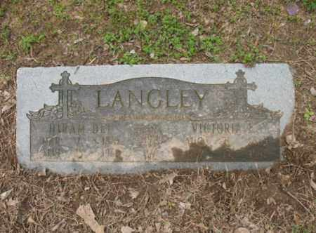 LANGLEY, HIRAM DEE - Jackson County, Arkansas   HIRAM DEE LANGLEY - Arkansas Gravestone Photos