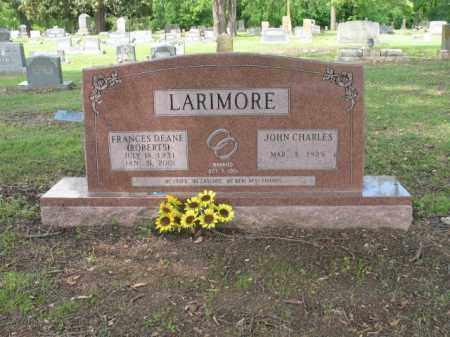 ROBERTS LARIMORE, FRANCES DEANE - Jackson County, Arkansas | FRANCES DEANE ROBERTS LARIMORE - Arkansas Gravestone Photos
