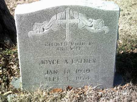 LATNER, JOYCE A - Jackson County, Arkansas | JOYCE A LATNER - Arkansas Gravestone Photos