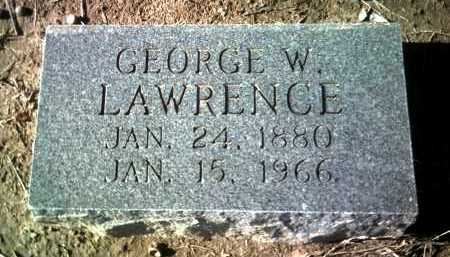LAWRENCE, GEORGE W - Jackson County, Arkansas | GEORGE W LAWRENCE - Arkansas Gravestone Photos