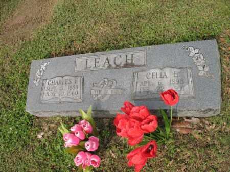 LEACH, CHARLES FRANK - Jackson County, Arkansas   CHARLES FRANK LEACH - Arkansas Gravestone Photos