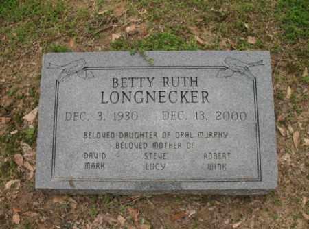 LONGNECKER, BETTY RUTH - Jackson County, Arkansas | BETTY RUTH LONGNECKER - Arkansas Gravestone Photos