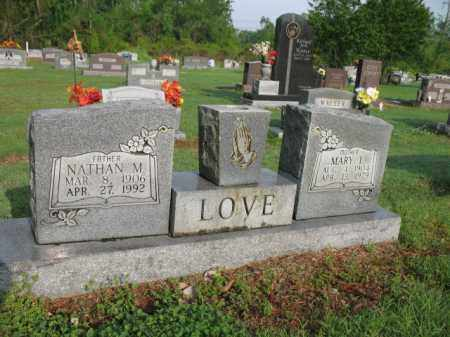 LOVE, NATHAN M - Jackson County, Arkansas | NATHAN M LOVE - Arkansas Gravestone Photos
