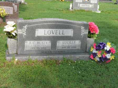 "LOVELL, JIMMY CHARLES ""RUSTY"" - Jackson County, Arkansas | JIMMY CHARLES ""RUSTY"" LOVELL - Arkansas Gravestone Photos"