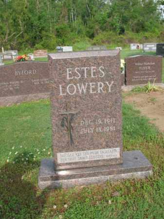 LOWERY, ESTES - Jackson County, Arkansas | ESTES LOWERY - Arkansas Gravestone Photos