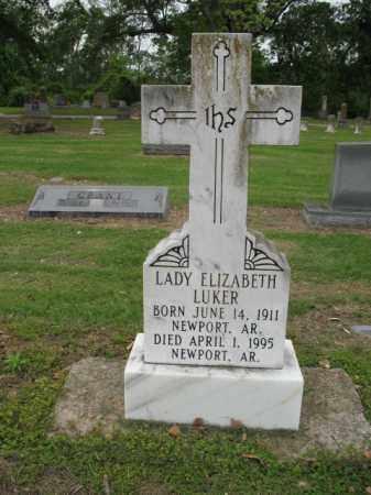 LUKER, LADY ELIZABETH - Jackson County, Arkansas | LADY ELIZABETH LUKER - Arkansas Gravestone Photos