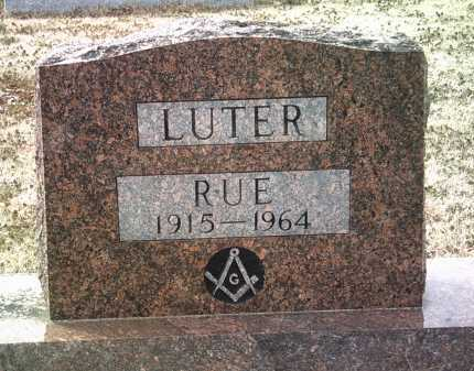 LUTER, RUE - Jackson County, Arkansas | RUE LUTER - Arkansas Gravestone Photos