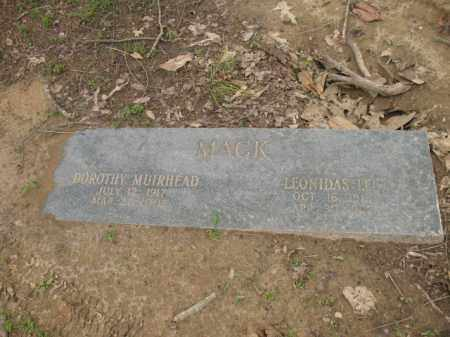 MACK, LEONIDAS LEE - Jackson County, Arkansas | LEONIDAS LEE MACK - Arkansas Gravestone Photos