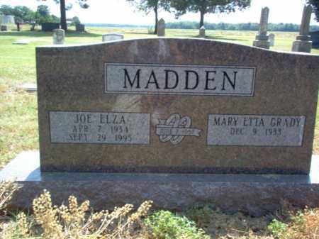 MADDEN, JOE ELZA - Jackson County, Arkansas | JOE ELZA MADDEN - Arkansas Gravestone Photos