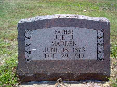 MADDEN, JOE J - Jackson County, Arkansas | JOE J MADDEN - Arkansas Gravestone Photos