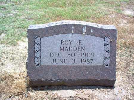 MADDEN, ROY ELMER - Jackson County, Arkansas | ROY ELMER MADDEN - Arkansas Gravestone Photos