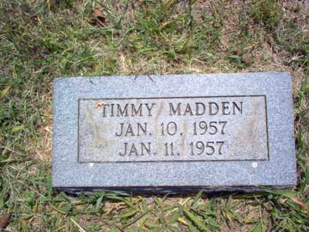 MADDEN, TIMMY - Jackson County, Arkansas   TIMMY MADDEN - Arkansas Gravestone Photos
