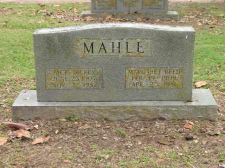 MAHLE, JACK DICKEY - Jackson County, Arkansas   JACK DICKEY MAHLE - Arkansas Gravestone Photos