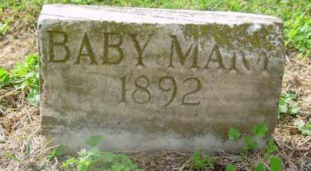 UNKNOWN, BABY MARY - Jackson County, Arkansas | BABY MARY UNKNOWN - Arkansas Gravestone Photos