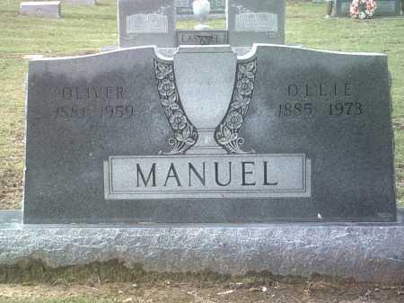 MANUEL, OLLIE - Jackson County, Arkansas | OLLIE MANUEL - Arkansas Gravestone Photos