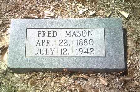 MASON, FRED - Jackson County, Arkansas | FRED MASON - Arkansas Gravestone Photos