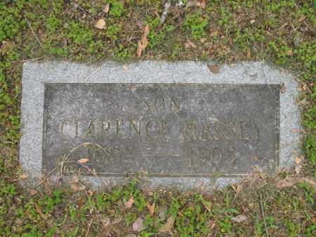 MASSEY, CLARENCE - Jackson County, Arkansas | CLARENCE MASSEY - Arkansas Gravestone Photos