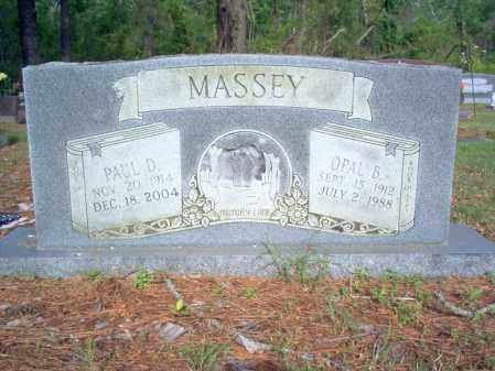 MASSEY, PAUL D - Jackson County, Arkansas | PAUL D MASSEY - Arkansas Gravestone Photos