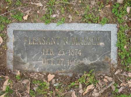 MASSEY, PLEASANT N - Jackson County, Arkansas   PLEASANT N MASSEY - Arkansas Gravestone Photos