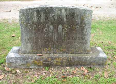 MASSEY, ROSANNA - Jackson County, Arkansas   ROSANNA MASSEY - Arkansas Gravestone Photos