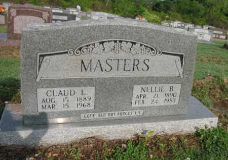 MASTERS, NELLIE B - Jackson County, Arkansas | NELLIE B MASTERS - Arkansas Gravestone Photos