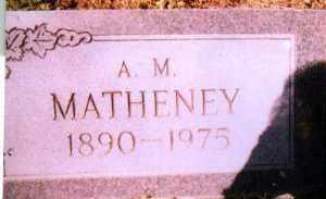 MATHENEY, HENRY LONZA - Jackson County, Arkansas | HENRY LONZA MATHENEY - Arkansas Gravestone Photos