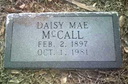 MCCALL (PIC2), DAISY MAE - Jackson County, Arkansas   DAISY MAE MCCALL (PIC2) - Arkansas Gravestone Photos