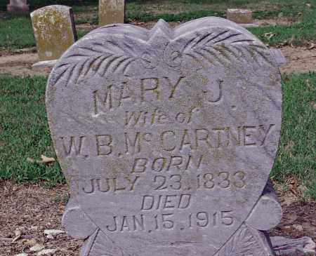 DURRUM MCCARTNEY, MARY JANE - Jackson County, Arkansas | MARY JANE DURRUM MCCARTNEY - Arkansas Gravestone Photos