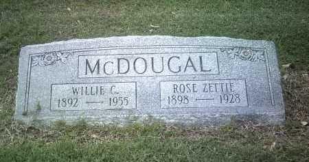MCDOUGAL, WILLIE C - Jackson County, Arkansas | WILLIE C MCDOUGAL - Arkansas Gravestone Photos