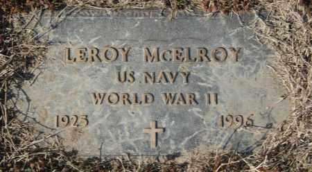 MCELROY (VETERAN WWII), LEROY - Jackson County, Arkansas | LEROY MCELROY (VETERAN WWII) - Arkansas Gravestone Photos