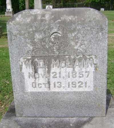 MCLAIN, WILLIAM  DAVID - Jackson County, Arkansas | WILLIAM  DAVID MCLAIN - Arkansas Gravestone Photos